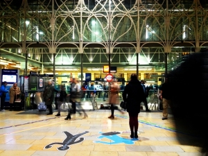 Walkative, Across RCA, 2013, Paddington, Station, London